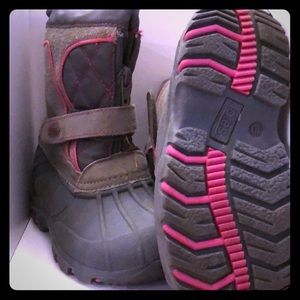 Totes Girls snow boots 10c